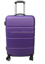 ABS 2 pcs set eminent trolley aluminum jewelry travel trolley case hard abs trolley case