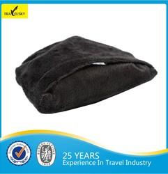 13408G Fleece Comfortable inflatable pillow book