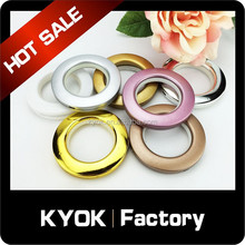 Super quality hot home docorative silent curtain ring, 28mm ring for AC curtain rod, best selling shower curtain ring wholesale