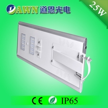 25W IP65 super bright integrated all in one all in one solar led street light sunny battery street lamp solar lawn light max ten