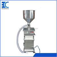 China supplier Full pneumatic vertical Olive oil filling machine paste bottle filling machine cheap