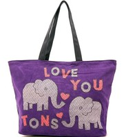 oem heavy duty tote bag canvas cotton