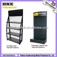 black metal display stand/display rack/display shelf