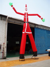 1 pcs 4m costume advertising inflatable air dancer / sky dancer with 2 legs
