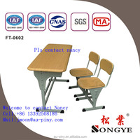 Durable classroom table and chair for sale/hot sale school furniture