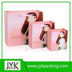 Nice design wedding paper bag, decorative paper bags, strong brown paper bag