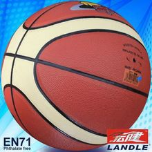 High quality 12 panles PU basketball china chinese pvc leather basketball
