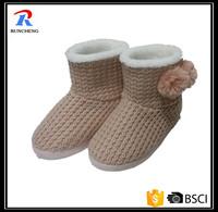 hot sale winter indoor kintted women boots 2015