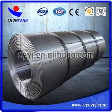 ferro calcium cored wire / chinese plant supply ca fe cored wire