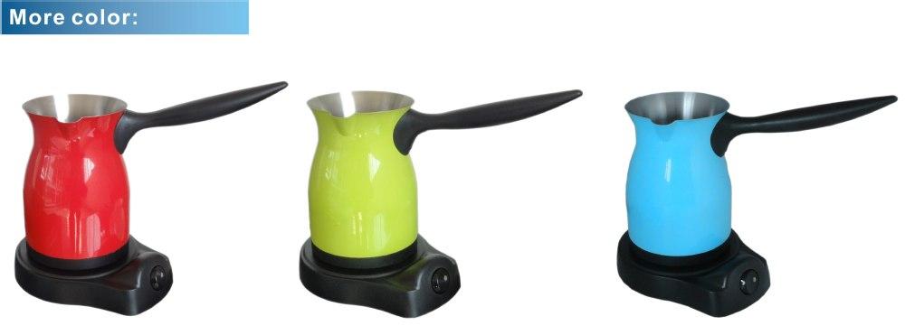 특별 안티-오버플로 기능 전기 아라비아 커피 냄비 Euorope ERP ...