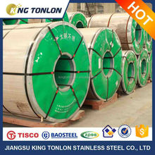 304 No.1 surface finished stainless steel coil