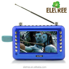 Multi function 9 inch hd screen portable tv with big buttons EL-601