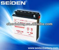 12N5-3B motorcycle battery sealed lead -acid battery
