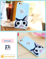 Full protective for iPhone 6S silicon case cover shockproof scratched resistant mobile phone case cover skin