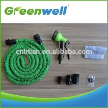 Customers over 50 countries Excellent material expandable flexible compact 25 ft garden/lawn water hose no kinkspocket size