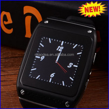 Modern promotional talk band phone smart watch mobile phone