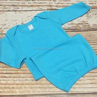 Kids children clothes girls plain pajamas baby girl night wear boutique children sleepwear