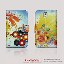 Customized Flip Leather Mobile Cell Phone Cover Case