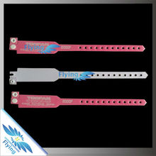 attractive!!party festival plastic PVC vinyl wristband bracelet (wrist bands)
