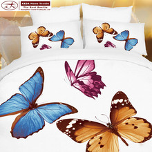 alibaba china home bedding cotton 3d butterfly design bed sheets custom your own design comforter sets white girl bedding sets