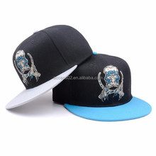 black fitted hip hop caps and hat