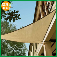 New Extra Heavy Duty Shade Sail- Rectangle 3m x 6m Sand Color Also Custom Made