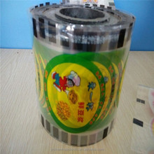 Multi-layer extrusion transaprent custom bubble tea film