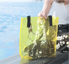 beach pvc bag with compartment for lady(SD-BB-005)