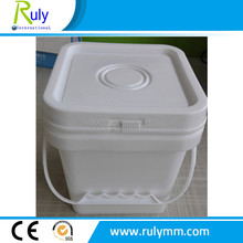 Bucket Type Square Plastic Bucket in 2L,5L,8L,10L,15L,20L Used for Food Packing