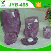 purple promotional faux marble bathroom set bathroom accessory