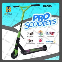 NEW style extrme kids step scooter racer with pedals factory CE approved high quality JB246