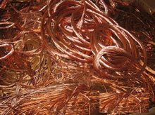 Copper wire scrap 99,99% Min.