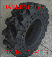 China with high quality skid steer snow tire 10-16.5 gomme piene per bobcat