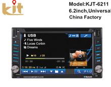 Multifunction universal 2 Din 7 inch Car DVD player with gps/ wifi/ dvb-t/ usb