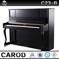 C23-B para venta, piano marca Carod con silla de piano y tapa
