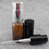 15ml mist painting dark brown glass spray bottle /glass dropper bottle with spray cap