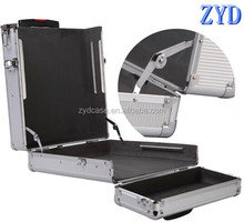 ZYD aluminum laptop trolley case made in china