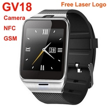 2015 new product Gsm NFC smart watch phone china factory price