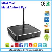 Amlogic S805 M12 Metal TV Box Wifi Internet TV BOX
