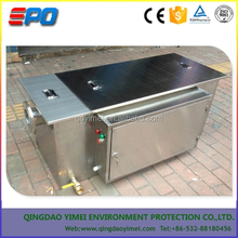 grease trap for the school canteen / mess hall