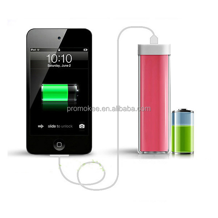 promo portable phone charger 2600mah. Black Bedroom Furniture Sets. Home Design Ideas