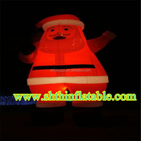 2015 New advertising products inflatable Santa Claus inflatable model