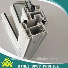 PVC profile cheap PVC window profile supplied by Yu Jing