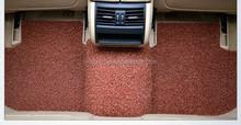 PVC Vinyl Coil Carpet car Floor Mat with Heel Pad Front & Rear universal custom fit