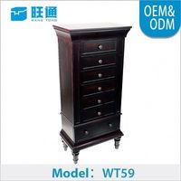 Good Quality China Manufacturers Customized Luxury antique jewelry display cabinet