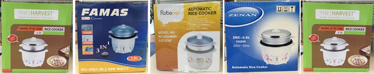 Panela de arroz panela de pressão elétrica do aço inoxidável