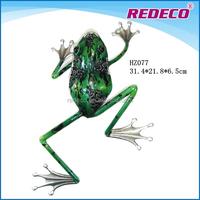 Metal frog garden ornaments