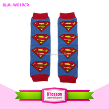 2015 wholesale kids superhero leg warmers boutique cotton plain baby toddler leg warmers