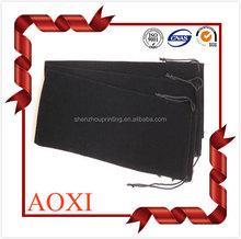 High quality fashion custom velvet drawstring velvet pen gift bag