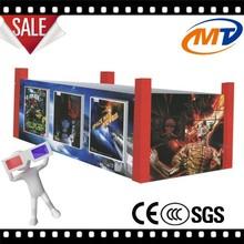 Contemporary hot-sale mini cinema red 12 seats cabin 7d cinema